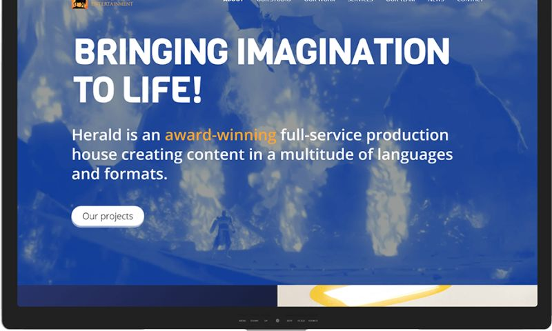 Mr. Website Designer - Herald Entertainment Inc.