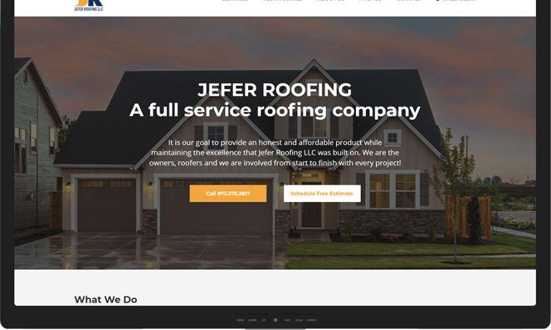 Mr. Website Designer - Jefer Roofing