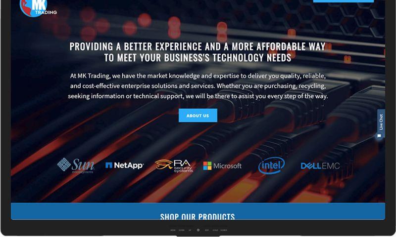 Mr. Website Designer - MK Trading LLC