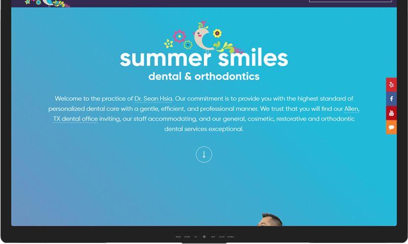Mr. Website Designer - Summer Smiles Dental