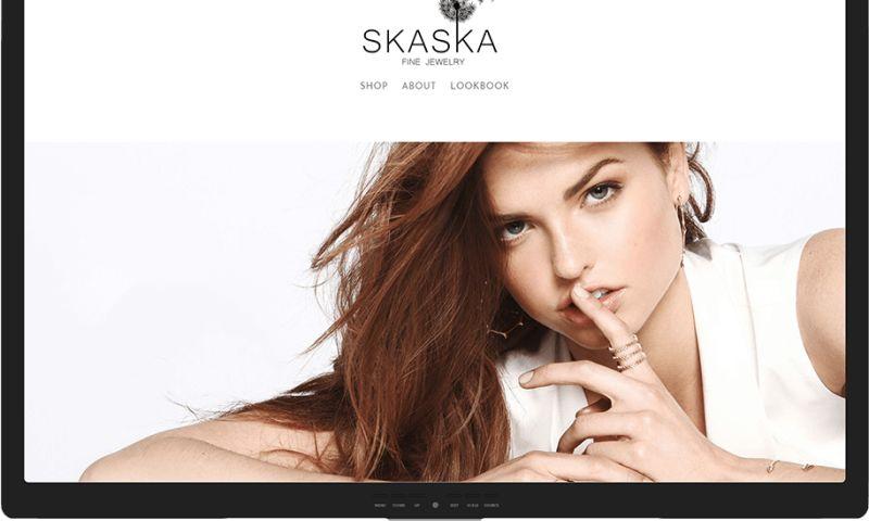 Mr. Website Designer - Skaska Fine Jewelry