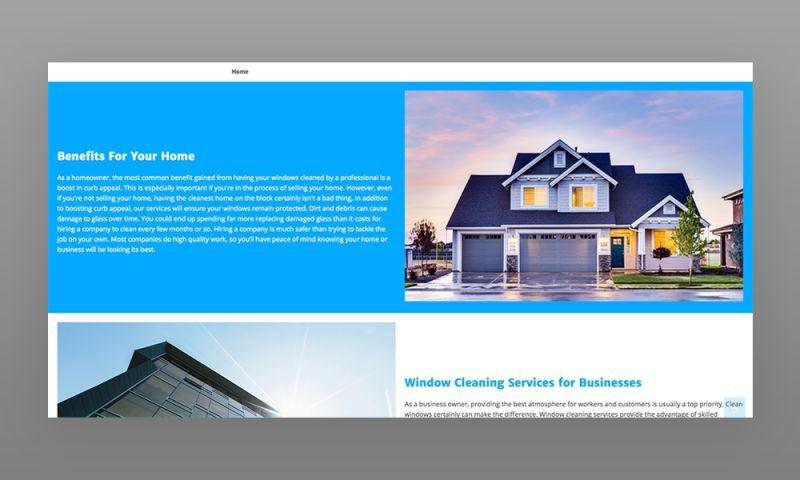 Marcher Internet Marketing - WindowsCleaning.net Web Design