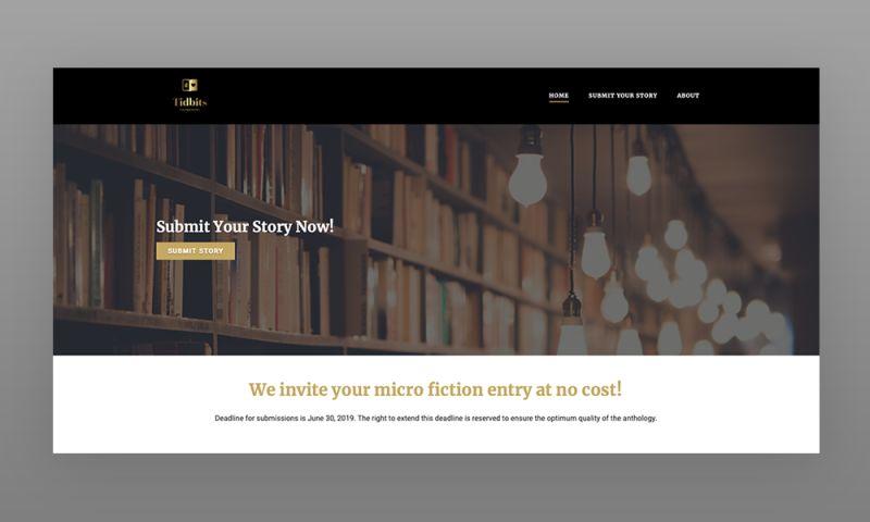 Marcher Internet Marketing - Tidbits Writing Web Design