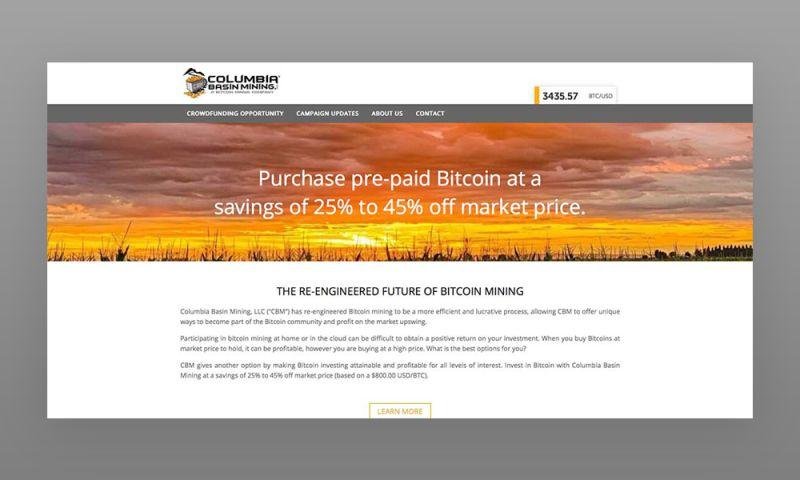 Marcher Internet Marketing - Columbia Basin Mining Web Design