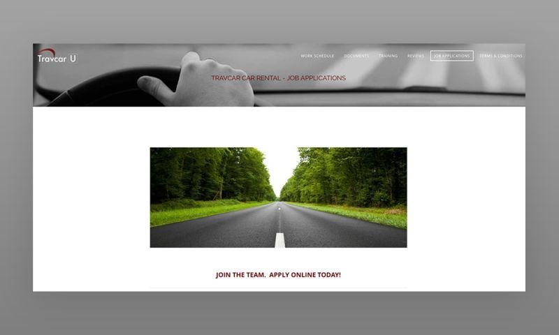 Marcher Internet Marketing - Travcar U Web Design
