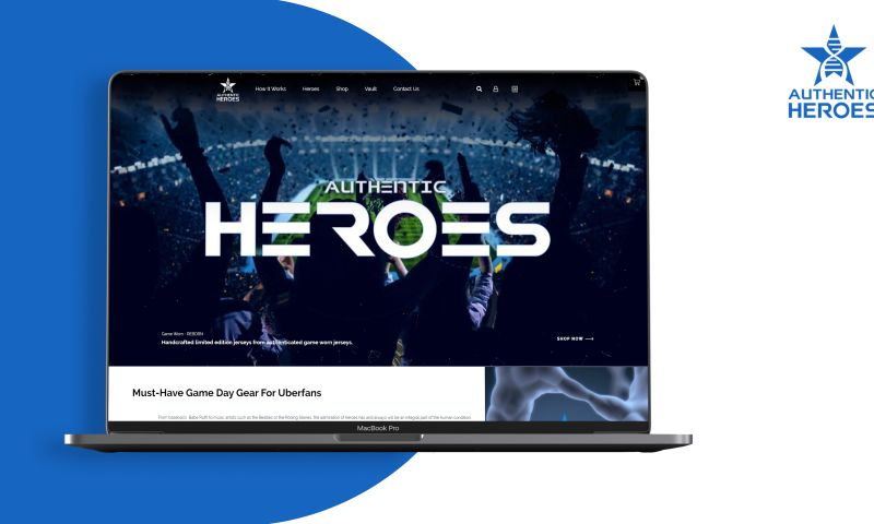 Codezeros - Authentic Heroes — Enabling rebirth of collectible clothing of sports heroes via blockchain
