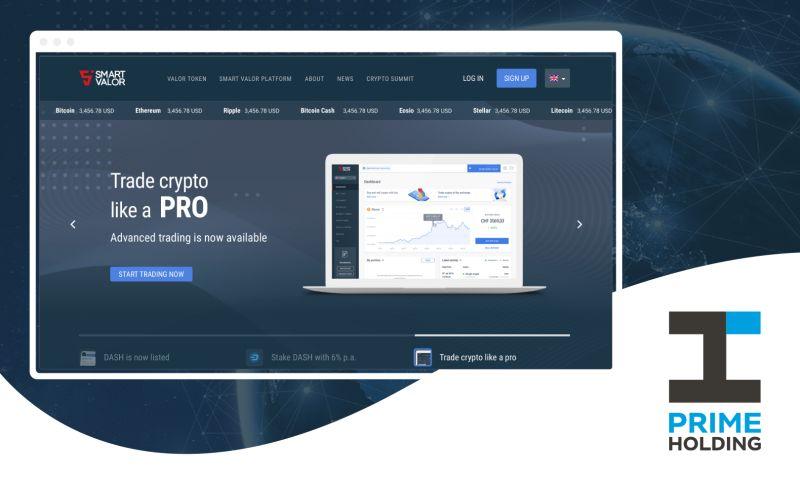 Prime Holding - Smart Valor - Tokenized Investment Marketplace