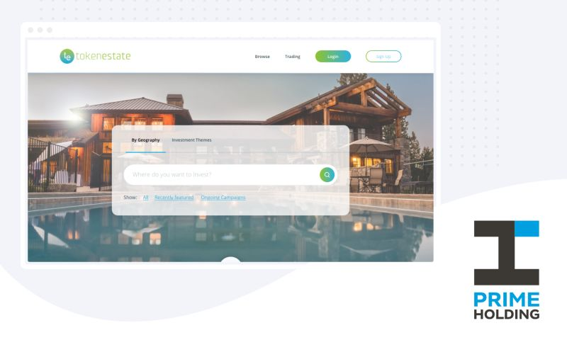 Prime Holding - Token Estate - Real Estate Tokenization Platform