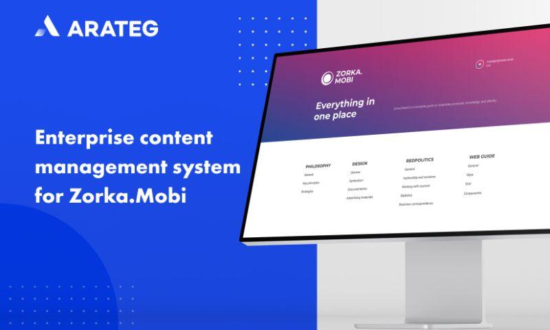 Arateg - Enterprise content management system