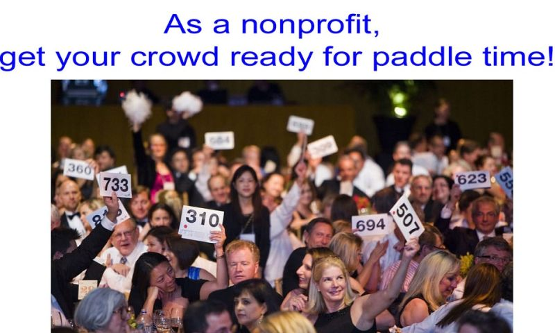 Baerclaw Productions - As a nonprofit, get your crowd ready for paddle Time!