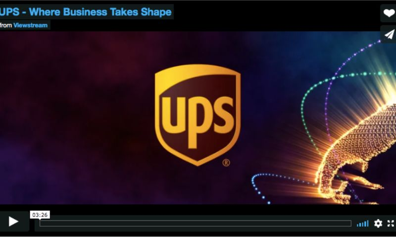 Viewstream, Inc. - UPS
