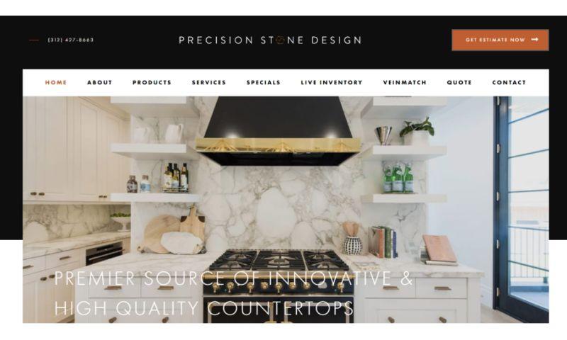 Comrade Digital Marketing - Precision Stone Design