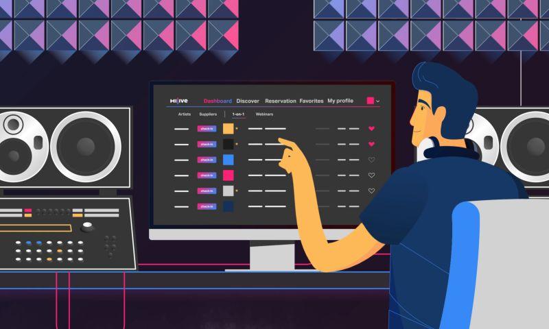 Verstiuk Production - Hi-Live – 2D Animated Promo Video
