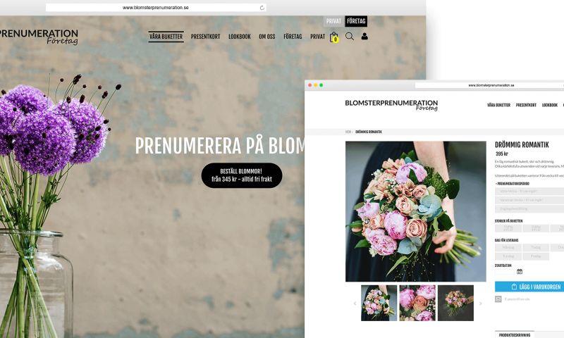 GoMage - Blomsterprenumeration.se