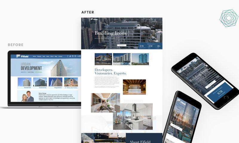 collideascope - Luxury Real Estate Developer Website Redesign