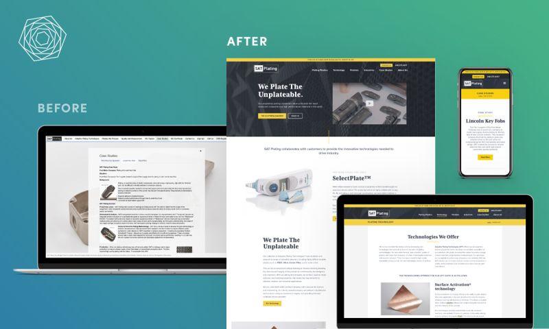 collideascope - Manufacturing Website Redesign