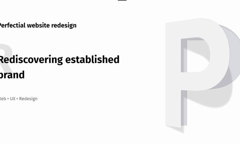 Pixetic - Perectial website redesign