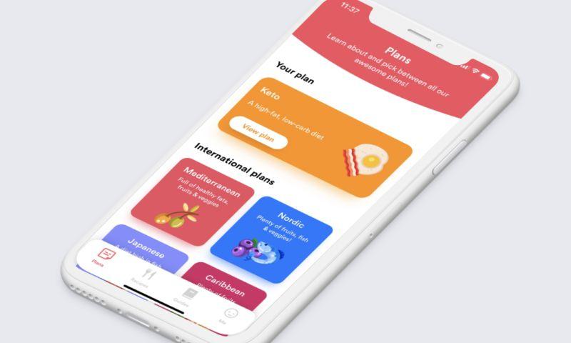 Apptaste - Meals App UI/UX Design