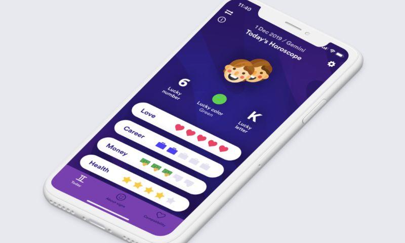 Apptaste - Zodiacs App UI/UX Design