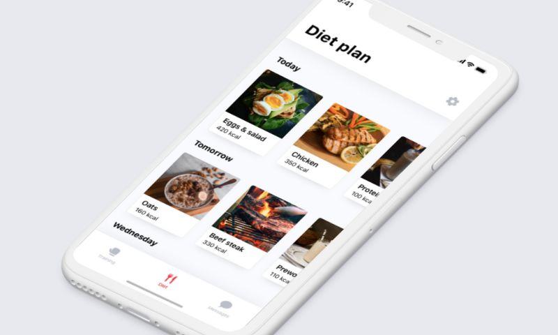 Apptaste - Our MMA App UI/UX Design