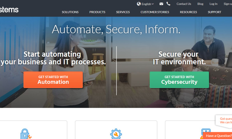 Origin Eight, Inc. - HelpSystems: Website Redesign and Digital Marketing Optimization
