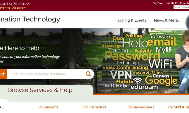 Origin Eight, Inc. - IT@UMN Services Resource Portal