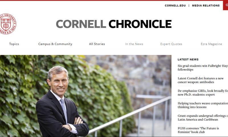 Origin Eight, Inc. - Cornell Chronicle