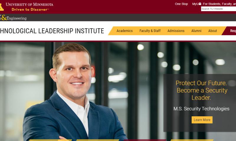 Origin Eight, Inc. - Technological Leadership Institute - UMN