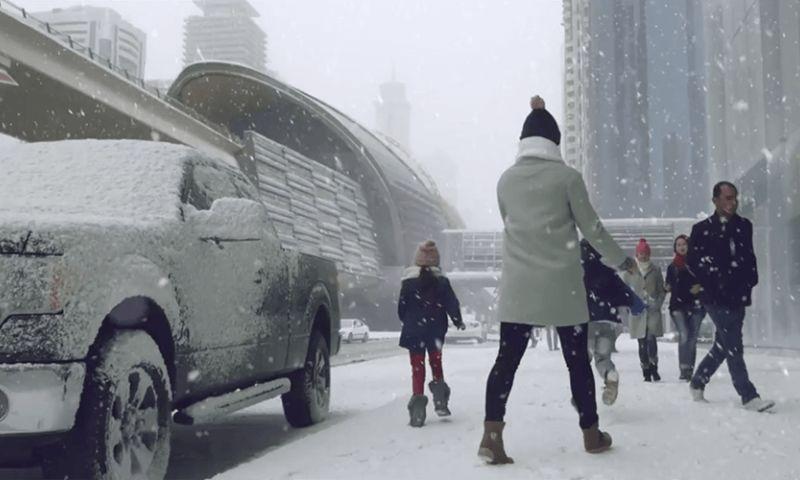 Joy Films FZ LLC - Snow-Sama Dubai TV Idents