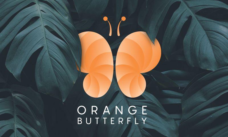 Saeculum Solutions Pvt Ltd - Orange Butterfly