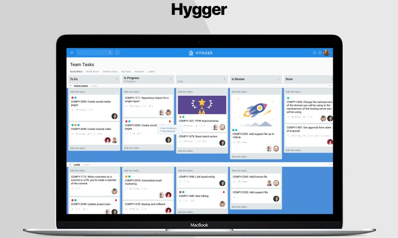 Cuspy Software - Hygger - B2B SaaS Project Management Tool