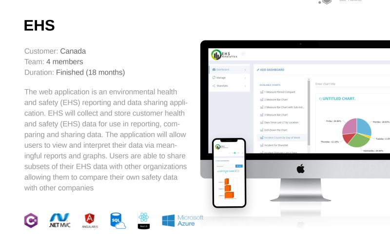 Honeycomb Software - Environmental health and safety reporting and data sharing app