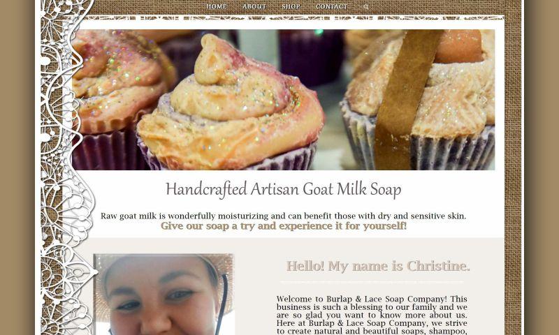 aStash Web Design & Marketing - Burlap Lace & Soap Co