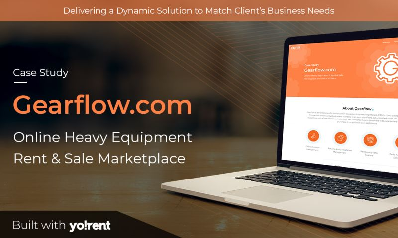 FATbit Technologies - Gearflow.com Online Heavy Equipment Rent & Sale Marketplace Built with Yo!Rent