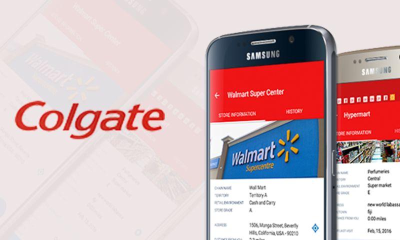 Folio3 - Colgate - App for Field Sales Reps