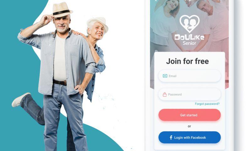 F5 Studio - DouLike Senior   iOS app design