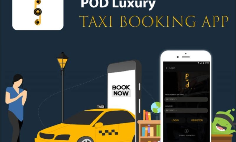 Endive Software - POD Luxury - Taxi Booking App