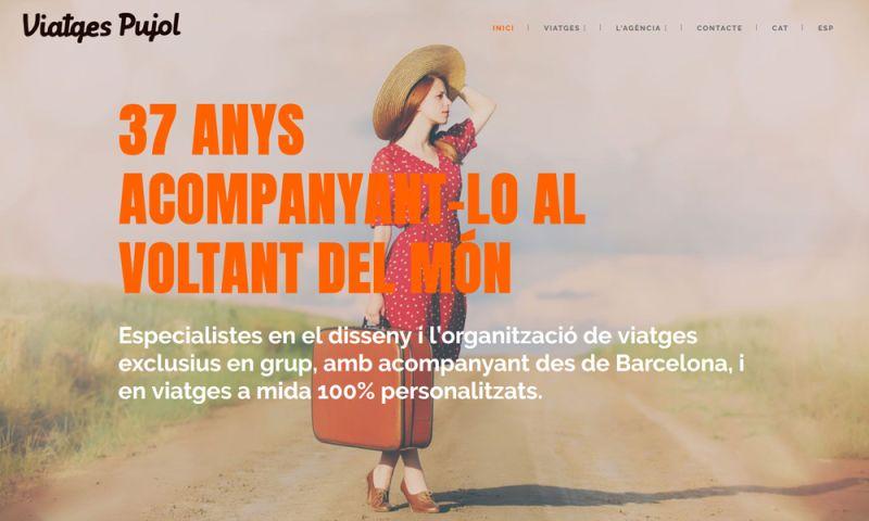 The Webmaster Co. de Barcelona - Viatges Pujol