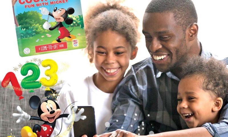 Live Animations - AR Disney 123