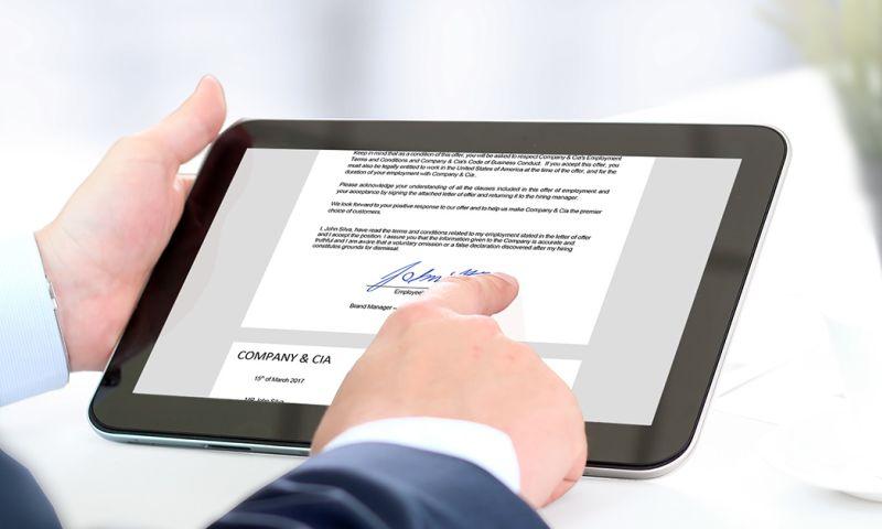 Mangosoft - The automated system for electronic signatures