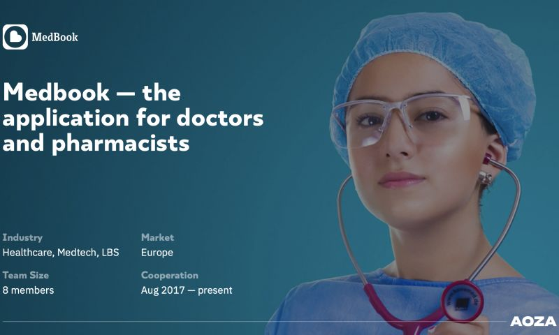 Aoza Tech - Medbook — the application for doctors and pharmacists