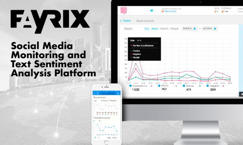 Fayrix Software - Social Media Monitoring And Analytics Platform