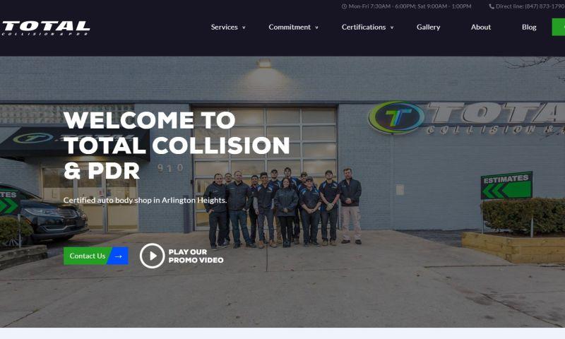 F5 Studio - Auto body shop website