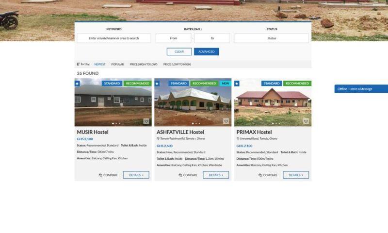 iWade Media - Hostelis - UDS Hostels Portal