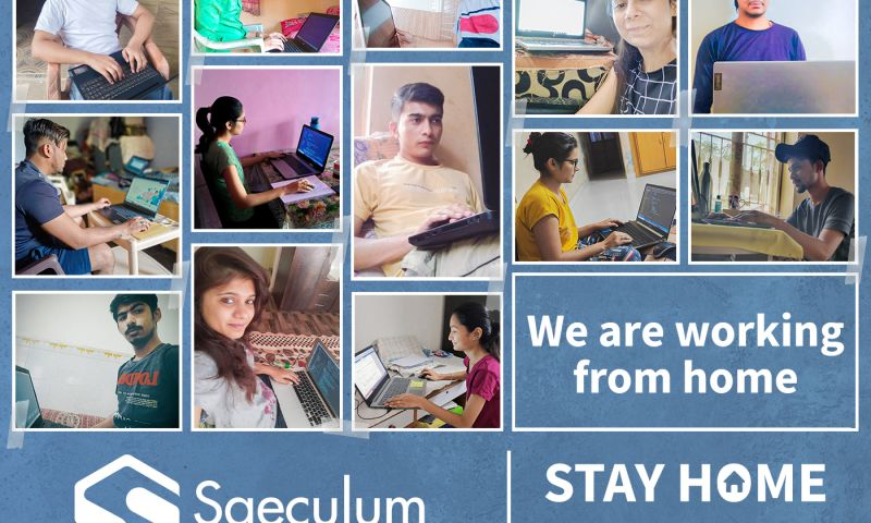 Saeculum Solutions Pvt Ltd - Stay Home Stay Safe
