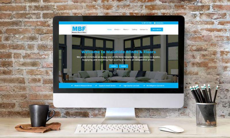 Affordable Websites UK - Malahide Blinds & Floors