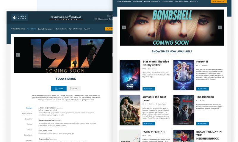 Mark It As Done - Custom online ticketing solution for Pruneyard Cinema