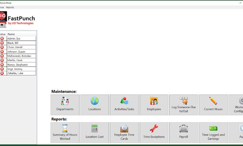 I/O Technologies Inc - FastPunch
