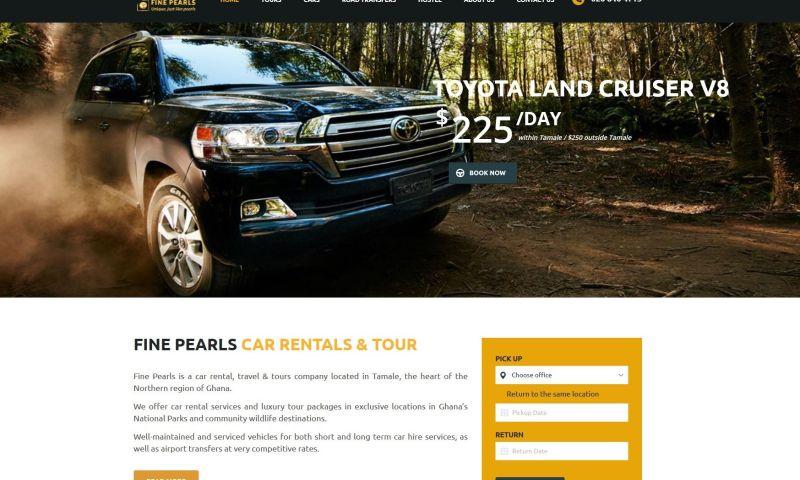 iWade Media - Car Rental Website