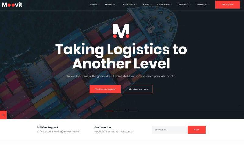 UPQODE - Moovit Cargo – Transportation & Logistic